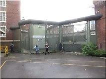SU7273 : Gate to the Courtyard by Bill Nicholls