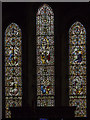 TA1181 : East window, St Oswald's church, Filey by Julian P Guffogg