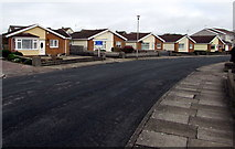 SS8178 : Anglesey Way bungalows, Nottage, Porthcawl by Jaggery