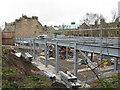 NT2471 : Building site, Newbattle Terrace by M J Richardson