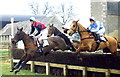 ST8087 : Beaufort Hunt Point-Point Races, Didmarton, Gloucestershire 1992 by Ray Bird
