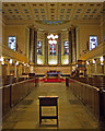 TQ2982 : St Pancras New Church, Euston Road/Woburn Place by Jim Osley