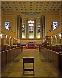 TQ2982 : St Pancras New Church, Euston Road/Woburn Place by Julian Osley