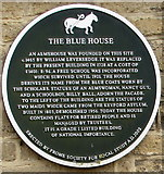 ST7748 : The Blue House plaque, Frome by Jaggery