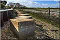 SU7103 : WWII Hampshire: Hayling Island - Langstone Bridge anti-tank blocks (1) by Mike Searle