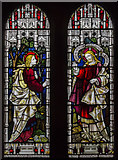 TA1181 : Stained glass window, St Oswald's church, Filey by Julian P Guffogg