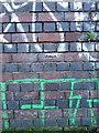 SP0888 : OS benchmark - Aston, canal near Avenue Road bridge by Richard Law