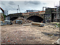SJ8297 : Ordsall Chord, Revealing Stephenson's Bridge by David Dixon