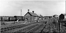 NY0130 : Seaton station, Cleator & Workington Junction Railway, 1951 by Walter Dendy, deceased
