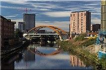 SJ8298 : River Irwell by Peter McDermott