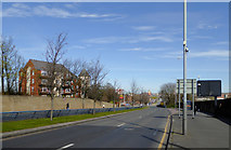 SO9097 : The A449 Penn Road approaching Wolverhampton by Roger  Kidd