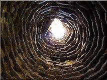 NO5101 : Dovecote interior, Newark Castle by Greg Fitchett