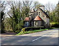 SO4614 : Derelict North Lodge, Hendre, Monmouthshire by Jaggery