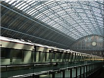 TQ3083 : Inside St Pancras Station by Neil Theasby