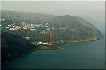 SS7249 : Lynmouth & Lynton by Roger A Smith