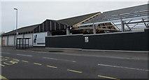 SZ6599 : Aldi supermarket rebuild, Goldsmith Avenue, Portsmouth by Jaggery