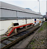 SZ6599 : Small platform at the end of the line, Fratton, Portsmouth by Jaggery