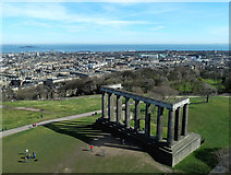 NT2674 : National Monument on Calton Hill by Mary and Angus Hogg
