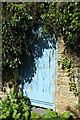 SX1353 : Door in wall, Mixtow by Derek Harper