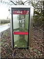 SP9406 : Former KX300 Telephone Kiosk at Hawridge by David Hillas