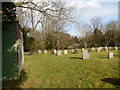 NY6323 : Graveyard, Bolton by Hamish Griffin