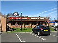 NZ2374 : Little Chef/Burger King at Seaton Burn Services by M J Richardson
