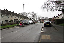 ST2896 : On-street parking, Maendy Way, Upper Cwmbran by Jaggery