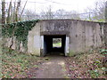 ST2795 : East side of an underpass below Thornhill Road, Thornhill, Cwmbran by Jaggery