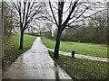 SJ8662 : Footpath leading to Thames Close, Congleton by Jonathan Hutchins
