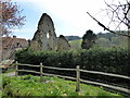 TQ7512 : Remains of Manor House, Crowhurst by PAUL FARMER