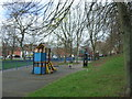 SK5444 : Children's playground near the River Leen, Bulwell by JThomas