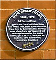 SD8913 : Blue plaque: Dame Gracie Fields by Gerald England