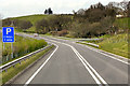 SO0253 : Northbound A470 near Builth Road by David Dixon
