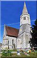 SU5859 : St Stephen's Parish Church, Baughurst by Des Blenkinsopp