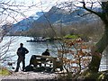 SH5760 : The west bank of Llyn Padarn, Llanberis by Robin Drayton