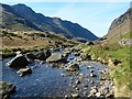 SH6256 : Afon Nant Peris viewed downstream by Robin Drayton