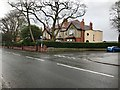 SJ8662 : Park Lane A527 at junction with Highcroft Avenue, Congleton by Jonathan Hutchins