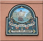 ST5772 : Pub Sign by Anthony O'Neil