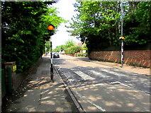 ST3049 : Zebra crossing, Berrow Road, Burnham-on-Sea by Jaggery