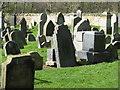 NT0882 : Gravestones in Rosyth Churchyard by M J Richardson