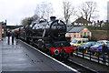 SK5612 : 'Black five' arriving at Rothley Station by Chris Allen