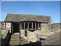 TA0489 : Scarborough Castle: ticket office by Stephen Craven