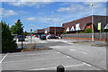 SK0405 : Tesco car park and store, Brownhills by Robin Stott