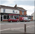 ST3037 : Somerset Angling shop in Bridgwater by Jaggery