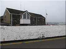 J5980 : The Lifeboat Station at the Donaghadee Harbour Office Building by Eric Jones