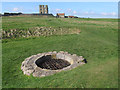 TA0589 : Our Lady's Well at Scarborough castle by Stephen Craven