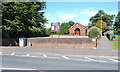 SK0505 : St Bernadette's Catholic Church, High Street, A452, Brownhills by Robin Stott