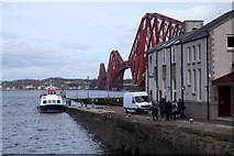NT1378 : Maid of the Forth at Hawes pier, Queensferry by Mike Pennington