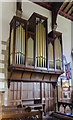 SE7984 : Organ, Ss Peter & Paul church, Pickering by Julian P Guffogg