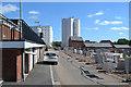 SK0405 : Development behind the High Street, Brownhills by Robin Stott
